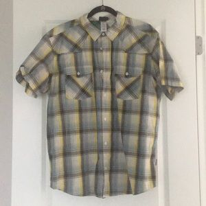 Patagonia short-sleeve button down.